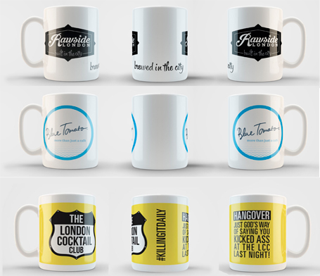 Hotels and Restaurant Mugs
